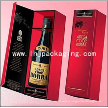 High Quality Single Bottle Paper Wine Box