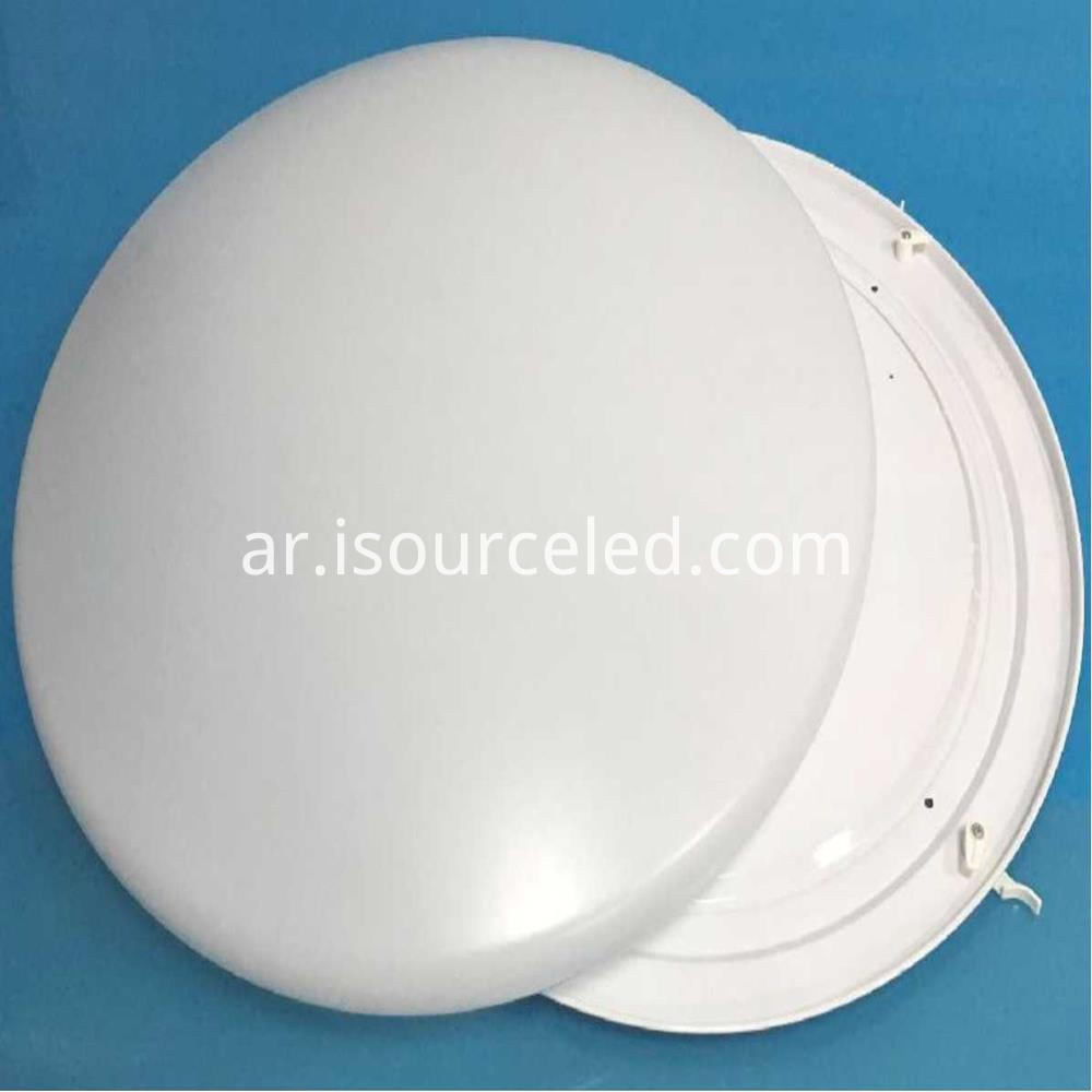 PVC 19cm 18w-32w bathroom ceiling light types