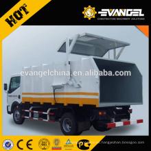 Dongfeng howo 4 * 2 pequeño camión de basura