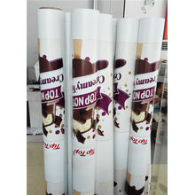 Banners de PVC mate de 13oz con impresión de alta resolución