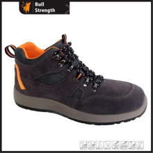 Ankle Suede Leather Safety Shoe with Steel Toe&Midsole (SN5429)