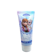 Plastic Soft Tube for cosmetic shower gel 25ml with screw cap