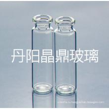 Завинчивающейся ясно трубчатые штыком стеклянная бутылка с высоким горлом