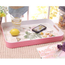 (BC-TM1025) Hot-Sell High Quality Reusable Melamine Serving Tray