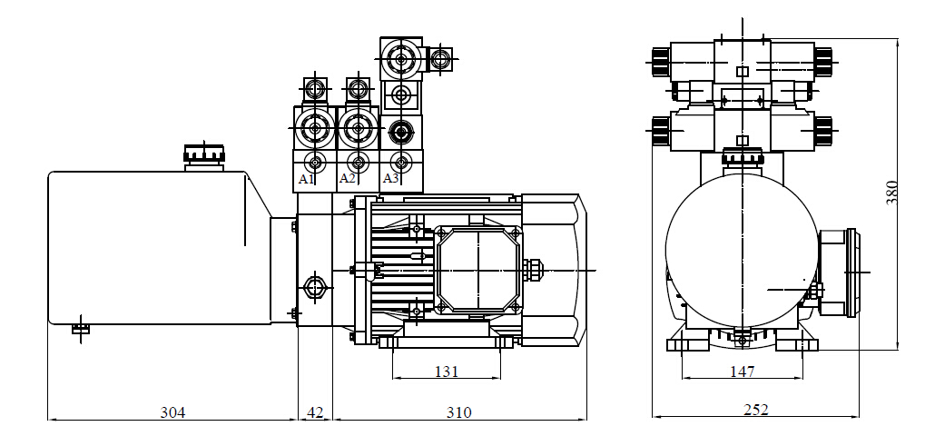 Power Unit for Tyre Press (2)