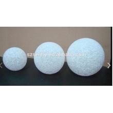 White Decorative Led ball for christmas decoration