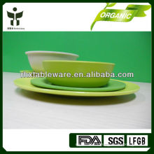 eco friendly plate and bowl hot sale
