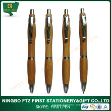 Gourd Shape Eco-friendly Bamboo Ball Pen For Promotion