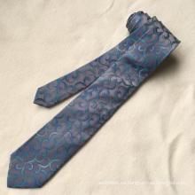 Venta caliente de la etiqueta privada 2017 corbata floral de seda de Amazon para hombre