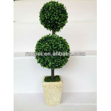 Artificial decorative fake trees topiary ball tree