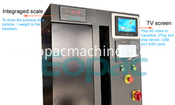 Luggage Packing Machine Airport