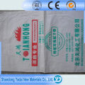 Saco de papel e plástico tecido para cimento