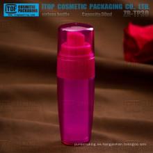ZB-TP30 30ml venta caliente atractivo 1oz hermosa botella privada de aire de paquete de inyección de la belleza de las capas dobles