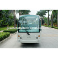 environmental 14 seater electric tourist bus sightseeing cart golf carts with sports tourism and hotel use