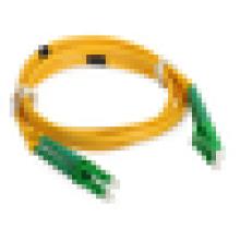 LC SM Fiber Patch Cable, LC APC DX Волоконно-оптические патч-корды с 2-миллиметровым кулером ПВХ дешевая цена за метр