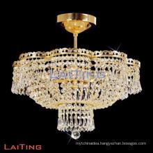 Restaurant lighting ceiling hallway chandelier luxury crystal chandelier
