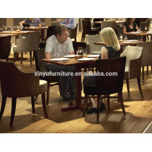 Modern restaurant chair and square table set XY0805