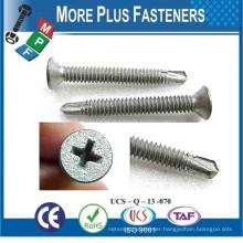 Made In Taiwan Phillip Bugle Head Drywall Screw Fine and Coarse Thread Self Drilling Screw