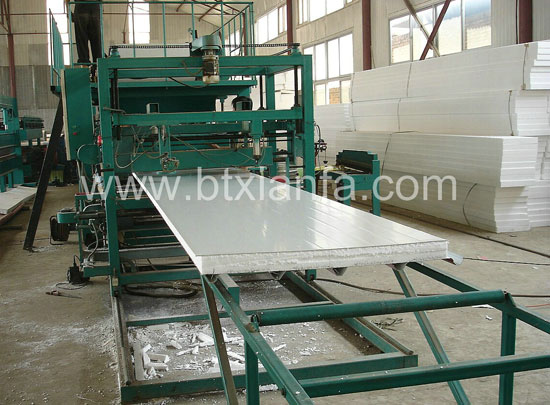 aluminum sandwich panel machine