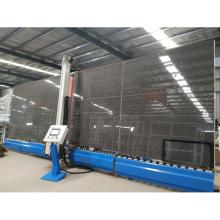 Máquina automática para eliminação de bordas verticais de vidro isolante