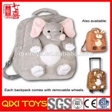 mochila de elefante anime de peluche
