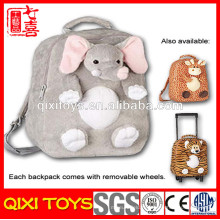 sac à dos d'éléphant en peluche anime