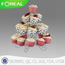 4-яруса 23PCS металла Cupcake Стенд