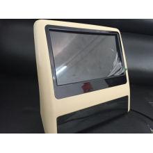 Novo clipe de 9 polegadas no carro Headrest DVD para o banco de trás