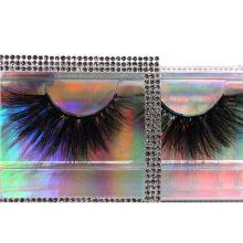 SL005 Hitomi Luxury Styles dramatic 3d mink eyelashes Wholesale Strip Mink Eyelashes Fluffy real 25mm mink eyelashes