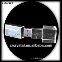 disco flash USB de cristal cubo
