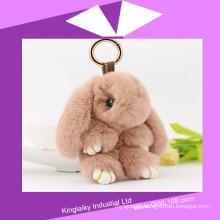 Plush Toy Jonstew Fur Rabbit for Bag Ornament Charm P016-007