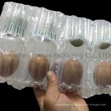 Embalagem de ovos com saco de coluna de ar elegante