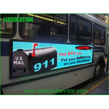 High Brightness Full Color Bus LED Screen P5