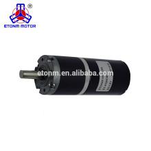 Alta calidad 12v y 24v robótica Dc Planetary Gear Motor Fabricante / proveedor