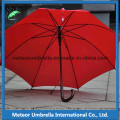 Colorful Fabric Straight Promotion Gift Wooden Shaft Auto Open Golf Umbrella