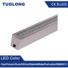 Adjustable Angle 24W Waterproof LED Inground Light Adjustable Facade Lighting RGB Ground Uplights