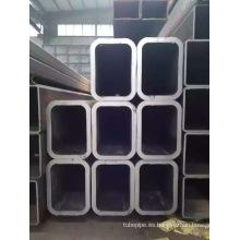Tubo rectangular estirado en frío 100 * 50 * 10 en Shandong