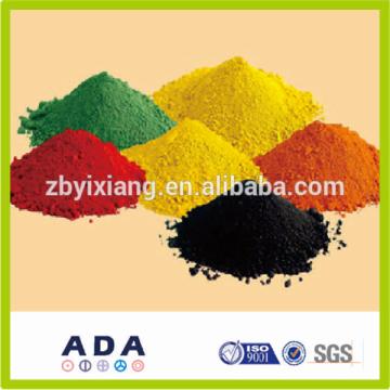 Производство прямая поставка цены на пигмент оксида железа