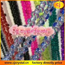 Perles d'os, perles de verre lampwork, dernières perles de verre design, perles de cristal lisse