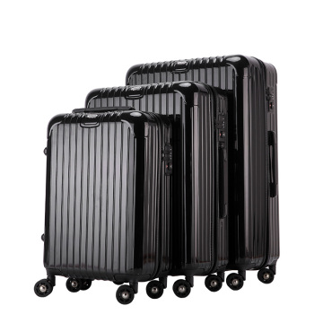 Huge capatity hardcase abs pc material luggage sets