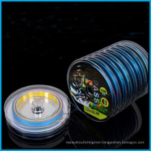 100m Super Strong 10PCS Connected Multicolor 8 Strand PE Fishing Line