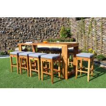 Barra de madera de alta clase fijada para los muebles de jardín al aire libre