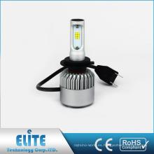 Linterna de la luz del coche LED de Seúl S2 para H1 H3 H7 H8 H10 H11 9005 9006 9012 8000LM Kit de la bombilla del vehículo