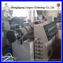 Extrusor de plástico del extrusor de doble husillo de plástico