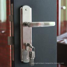 High quality anti-theft door lock,design door handle lock,door lock in guangzhou