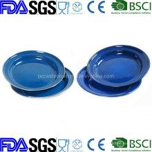 Customized Enamel Plate Dish Enamelware Dinnerware Tableware