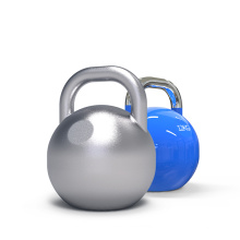Manufacturer Wholesale Gymnasium Fitness Cast Iron Kettlebells Color Kettlebell