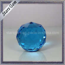 Bola grande de cristal de la decoración del día de fiesta