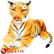 Meet EN71 and ASTM standard ICTI plush toy factory High Quality Plush Tiger