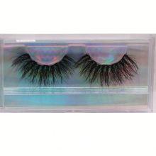 SL012H Hitomi Extra Long Mink Eyelashes Wholesale soft natural mink eyelashes Fluffy 25mm Magnetic Mink Eyelashes